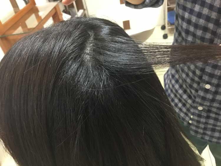 縮 毛 矯正 チリチリ